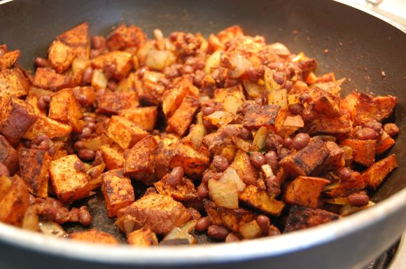 sweet potatoes for tacos