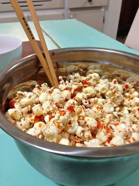 pop corn with piri piri